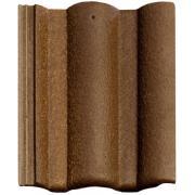 Цементно-песчанная черепица Braas  Адрия слари коричнево-золотая